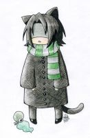 Neko Snape by blackpassionninja101