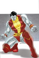 Colossus Colors by blaquejag