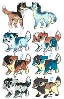 [Closed] Litter 21 by Pants-Adopts