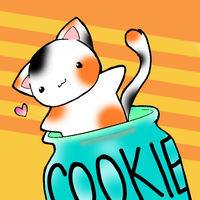 Kitty and a Cookie Jar by LuckyCatXD
