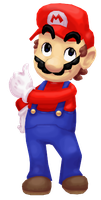 Mario says thumbs up by JoeAdok