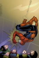 The Amazing Spiderman by sludger