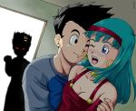 Goten and Bra by badka