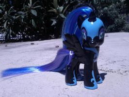 Another angle on Nightmare Moon commission by camilove