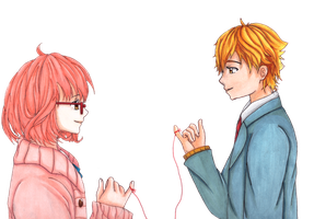 The red string of fate by Kitayame