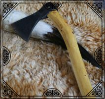 Viking one hand axe by hollow-reenact