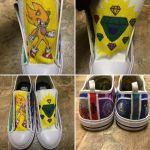 Custom Sonic Shoes by atomiksprout