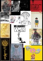 WE AGAINST WAR by us by blackcatdead