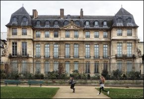 Musee Picasso Paris by SUDOR
