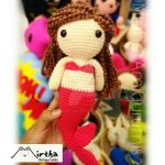 Amigurumi Mermaid by MirthaAmigurumis