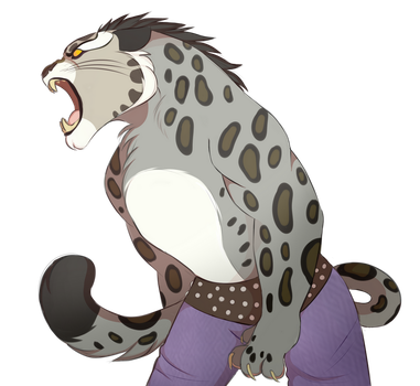 Tai Lung by EnvYousCat