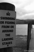 No Swimming Or Fishing.. by ParaSoph