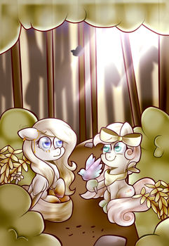 I Want to Get to Know You (Contest Entry) by VioletWinged22