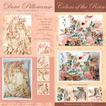 Dove and Colors of the Rain Pillowcase by laverinne