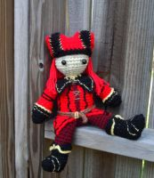 Crochet Cicero Plush by RoslynnSommers