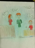 Fred and George in Percys room by fredgeorgerocks