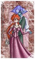 Lina and Zel - for Eugene by mette-miko