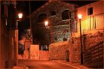 Night in the old city by ShlomitMessica