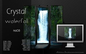 Crystal Waterfall no.03 by HiddenIce