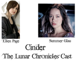 The Lunar Chronicles Cast: Cinder by I-threw-it
