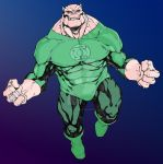 My colors on R Green Kilowog 2 by innerpeace1979