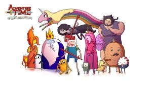 Adventure Time Wallpaper by CauseImDanJones