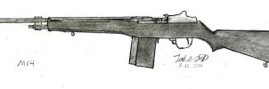 M14 Rifle by JakezuGD
