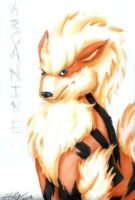 Arcanine by Alouf-Art