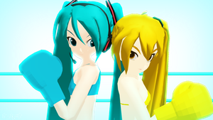 Miku Vs Neru by Party-P