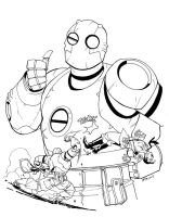 Atomic Robo Free art contest by RobertAtkins