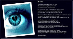 Numb by VisualPoetress