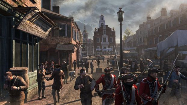 Assassin's Creed 3 Boston by applejack324