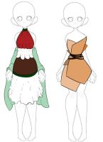 Sweets inspired dresses - CLOSED by Universeseed