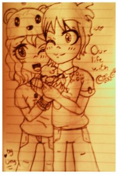 Our sweet life...With baby Chica??? O^O(?) by UnyloveLynx