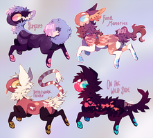 New Fishlings Auction! (closed) by vilhoadopts