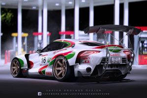 Tom's Castrol Toyota FT-1 Super GT by javieroquendodesign