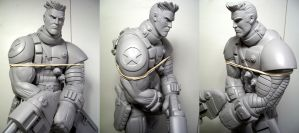 X-Men Cable Humberto Ramos style by figuralia