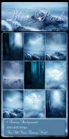 Exclusive blue backgrounds.. by moonchild-lj-stock