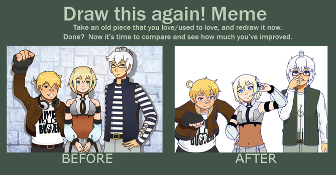 Meme: Draw This Again by creamteacookie