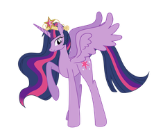 Princess Twilight by SparkPonies