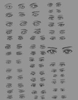 Practice Mode: Eyes 1 by kayzeepot