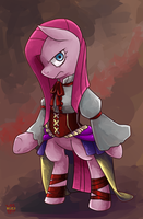Pinkamena: Dress of madness by norang94
