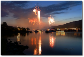 Donau in Flammen II by CelticCari
