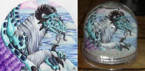 Water and Ice - Snowglobe by nelena