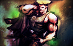 Guile - Street Fighter by Mabakun