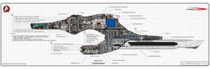 USS Endeavour refit by StarshipDynamics