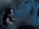 Elphaba and Attor by LiamLockheart
