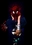 Mangaverse Spider Man by KidNotorious1 by H1W0