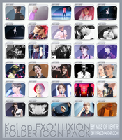 #2 30 Folder Icons Of Kai on Exoluxion by 30111996
