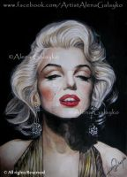 MARILYN MONROE by AlenaGalayko